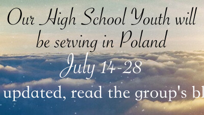 Youth Mission Trip in Poland