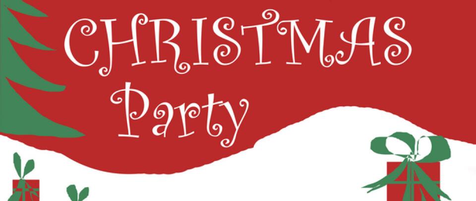 Sr. High Christmas Party