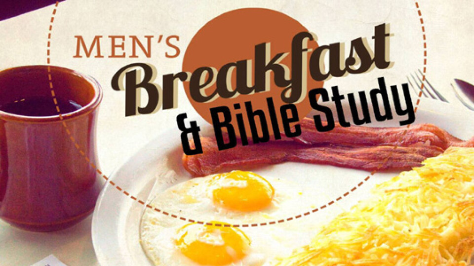 Men's Breakfast / Bible Study